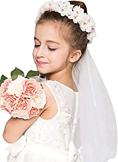 first communion hair wreaths