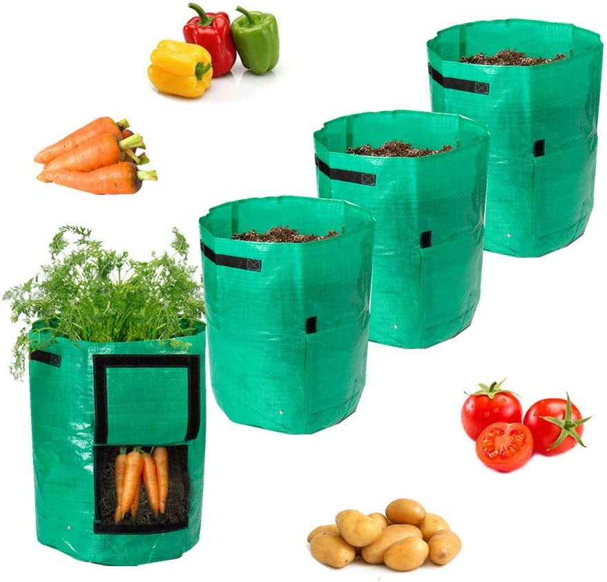 Todoing Garden Potato Grow Bag supreme Acc Bags 100% quality warranty 4Pack10Gallon with