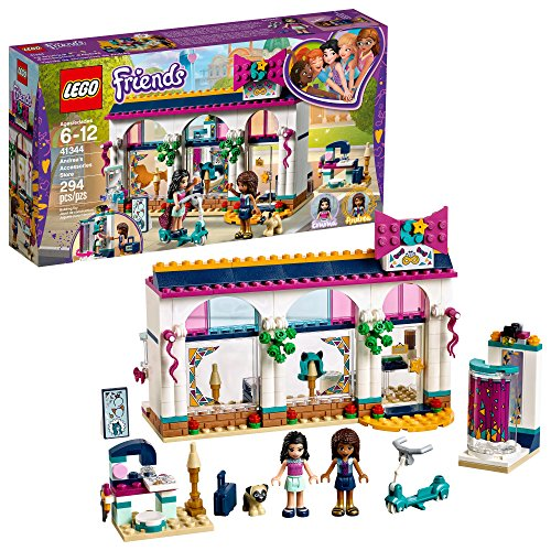LEGO Friends Andrea's Accessories Store 41344 Building Kit (294 Pieces) (Discontinued by Manufacturer)