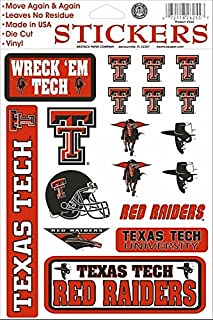 texas tech iron on decals