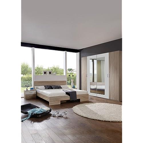 Schlafzimmer komplett 140x200: Amazon.de