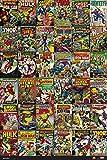 Grupo Erik Editores Poster Marvel Comics Classic Covers