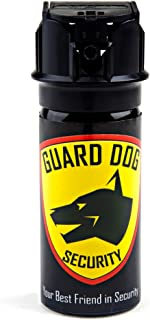 Guard Dog Security Pepper Spray Maximum Strength 18% OC Spray Tactical, Different Sizes (2 oz up to 5 oz) for self Defense, All Glow in The Dark, Protected for Life Program