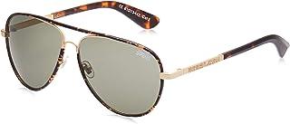 Superdry Unisex Sunglasses -Tortoise/Green-SDMILTON-001-size 61-13-142mm