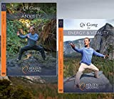 DVD Bundle: Lee Holden Qi Gong for Anxiety / Qi Gong for Energy & Vitality (YMAA) **NEW HD 2017**