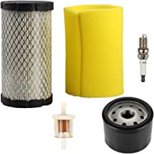 Hilom 793569 793685 Air Filter/Pre Filter with Oil Fuel Filter for Briggs & Stratton John Deere MIU11511 GY21055 LA125 D120 Mower Tractor