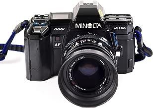 Minolta Maxxum 7000 Autofocus SLR 35mm Film camera with Minolta AF 35-70mm Lens in Working condition and Strap