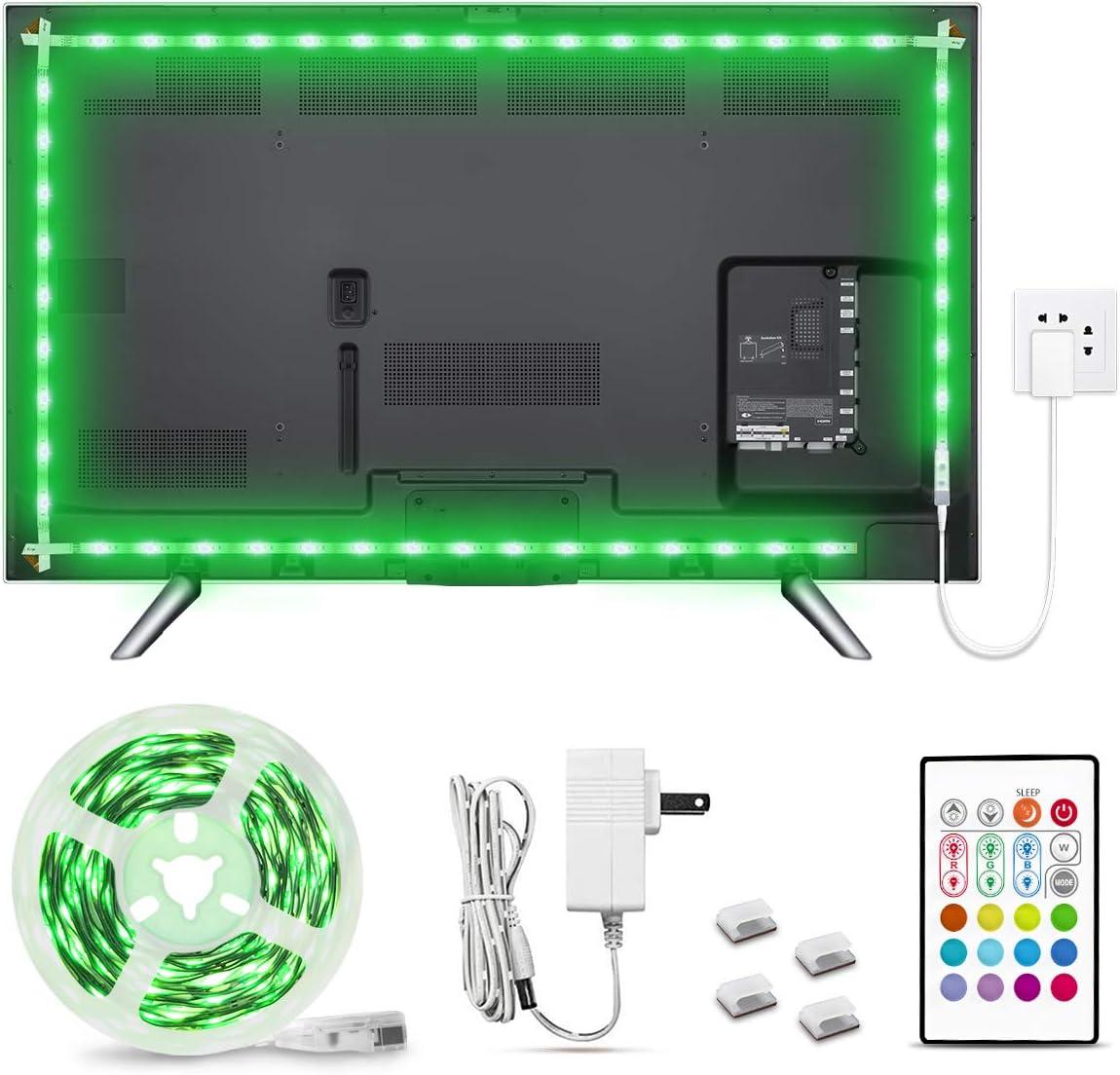 RGB TV Super intense SALE LED Backlight Finally resale start 18.37ft Bright Adhesive Stri SMD 5050 LEDs