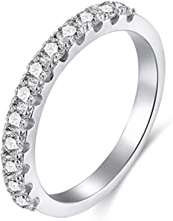 Best high quality cubic zirconia eternity bands Reviews