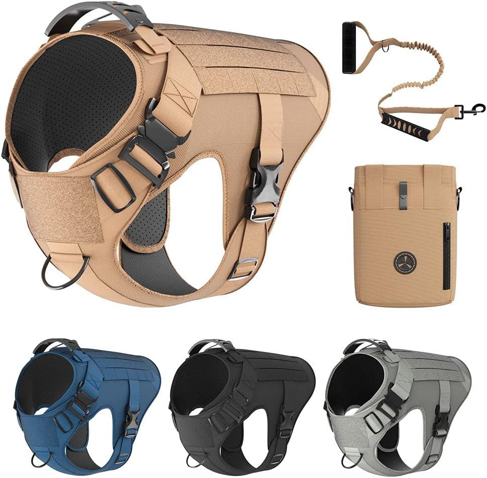 Tactical Dog Harness Los Angeles Mall Bundle Includes Dedication B Leash