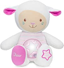 chicco Lullaby Sheep Rose Night Light, Voice Recorder