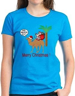 Hump Day Camel Merry Christmas T-Shirt Womens Cotton T-Shirt