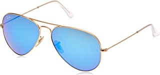 RB3025 Aviator Flash Mirrored Sunglasses