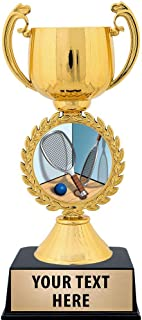 Crown Awards Personalized Racquetball Trophy, 7.25