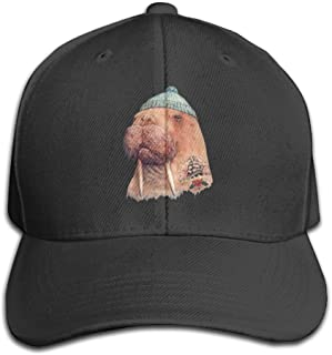 Tattooed Walrus With Cute Hat Adjustable Baseball Caps Unstructured Dad Hat 100% Cotton Black