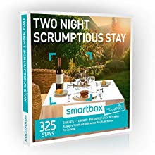Buyagift Two Night Scrumptious Stay Gift Experiences - 325 two night breaks with dinner for two at UK and European venues