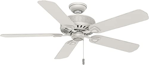 high quality Hunter wholesale 2021 Fan Company 54000 Ainsworth Ceiling Fan, 54-inch, White outlet sale