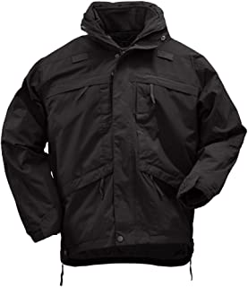 5.11 Tactical Men's 3-in-1 Waterproof Work Parka, Insulated, TacTec System Compatible, Style 48001