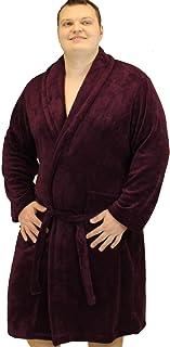 Espionage Men's Plain Fleece Dressing Gown