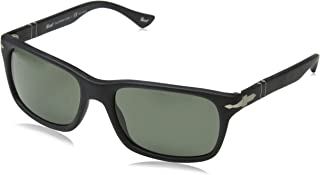 Men's PO3048S - Polarized Black Antique/Grey Polarized