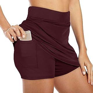 NIMIN Golf Skirts for Women Lightweight High Waist Active Performance Running Tennis Skirts Active Skorts