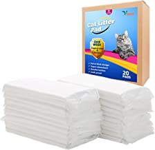 Vitervi Cat Litter Pad, Cat Pad Refills for Tidy Cats Breeze Litter System 20-Count