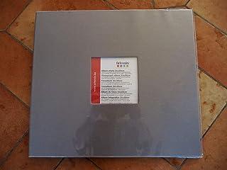 Artemio Album Photo 30x30 cm, 10 Pochettes Gris Clair