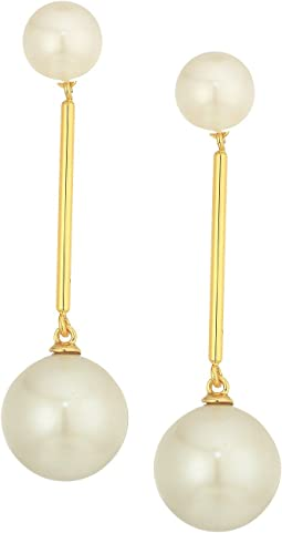 Kate Spade New York - Girls In Pearls Linear Drop Earrings