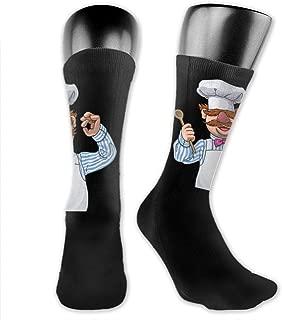 ChefTee Funny Swedish Chef Quote Socks,High Ankle Socks Halloween Socks