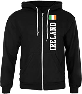 World Cup Distressed Flag Ireland Forest Adult Long Sleeve T-Shirt