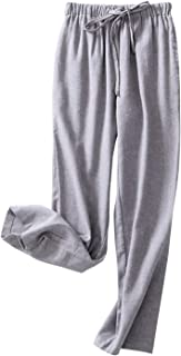 Women's Pure Cotton Flannel Classic Sleepwear Soft Lounge Long Placid Pajama Pants