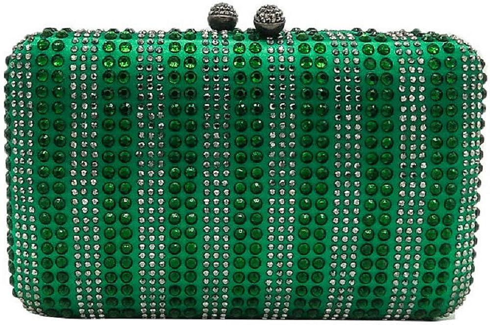 Plaid 67% OFF of fixed price Women Diamond Wedding Clutch Handbag Crystal Evening Bag 5 popular