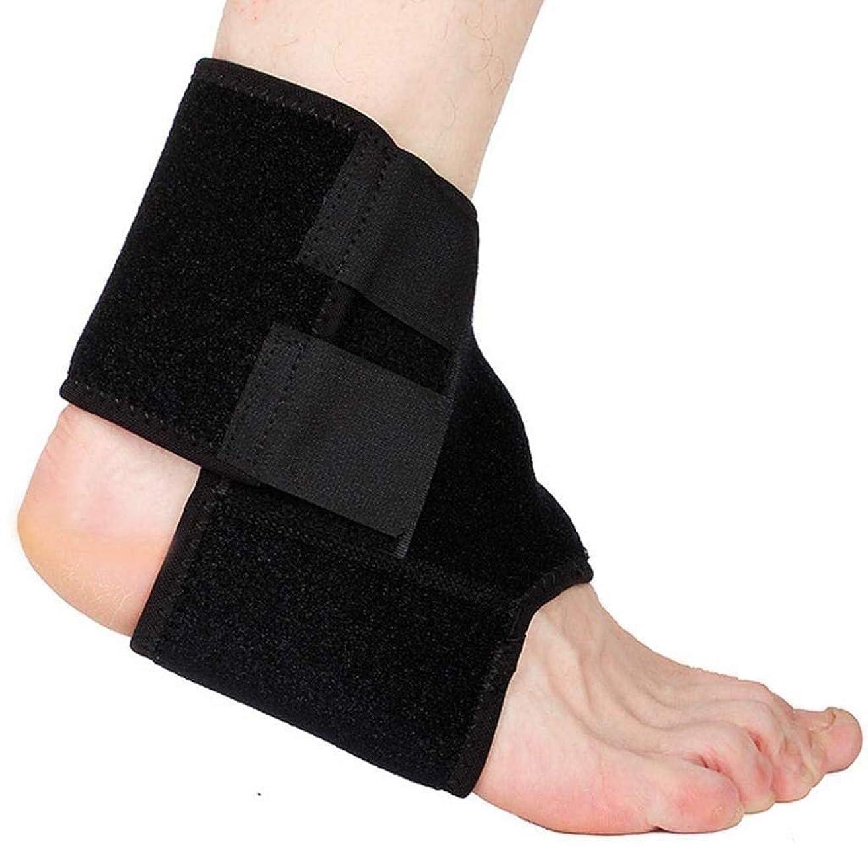 買い物に行く不平を言うお世話になった足首サポート調節可能な足首ブレース通気性のあるナイロン素材伸縮性があり快適な1サイズスポーツに最適慢性的な足首の捻Sp疲労からの保護