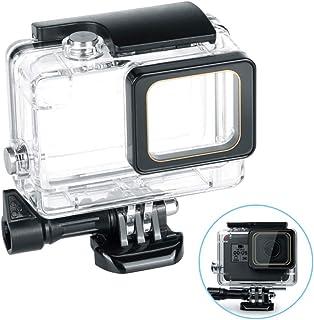 GoPro HERO 7 6 5 ハウジングケース 防水ハウジングケース 防水防塵保護ハウジング 耐圧水深45m GoPro Hero7 Hero6 Hero5 アクションカメラ対応 水中撮影用