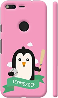 Colorpur Baseball Penguin from Tennessee Printed Back Case Cover for Google Pixel