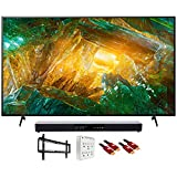 Sony XBR55X800H 55' X800H 4K Ultra HD LED TV (2020) with Deco Gear Soundbar Bundle
