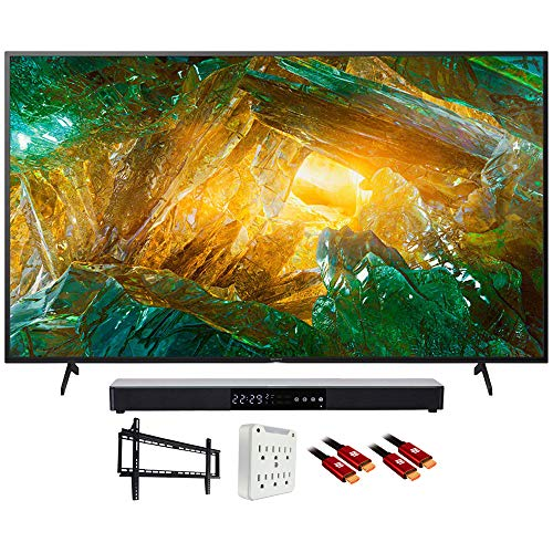 "Sony XBR55X800H 55"" X800H 4K Ultra HD LED TV (2020) with Deco Gear Soundbar Bundle"