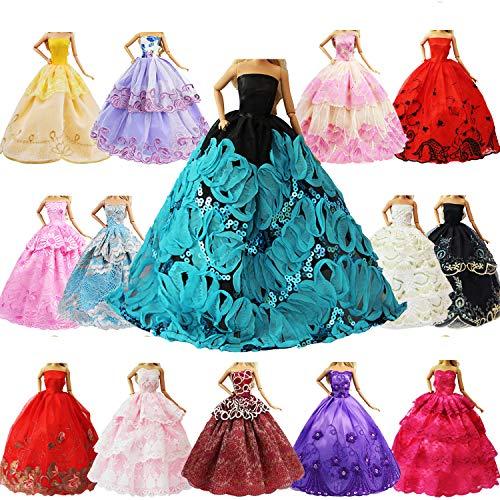 ZITA ELEMENT 5er Packung Handmade Bekleidung für 11,5 Zoll Girl Doll...