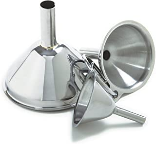 Norpro Stainless Steel Funnels, Set of 3