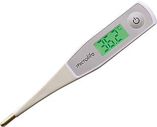 Microlife 電子体温計 スピード予測式20秒 バックライト付 やさしく曲がる先端 MT550 / 7-4902-01