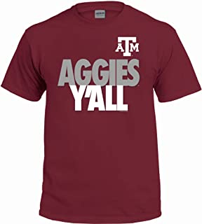 New World Graphics NCAA Y'all T Shirts - Multiple Universities Available - Up to 2X and 3X