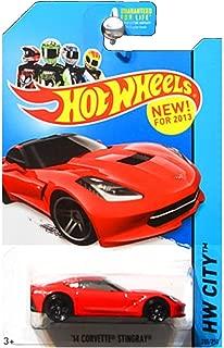 Hot Wheels 2013 HW City 2014 Chevrolet Chevy Corvette Stingray in Red