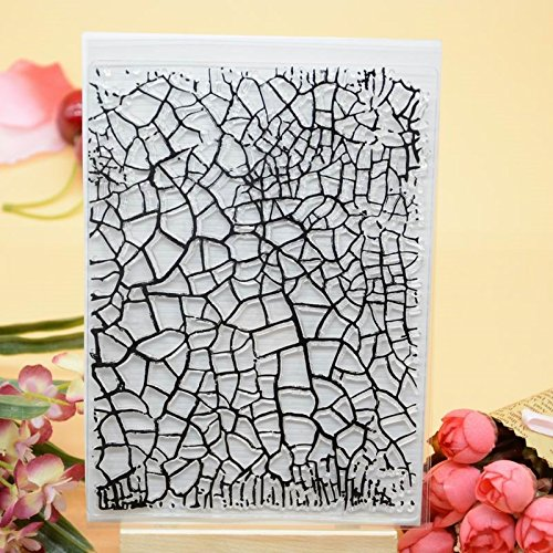Welcome to Joyful Home 1pc Background Clear Stamp for Card Making Decoration and Scrapbooking