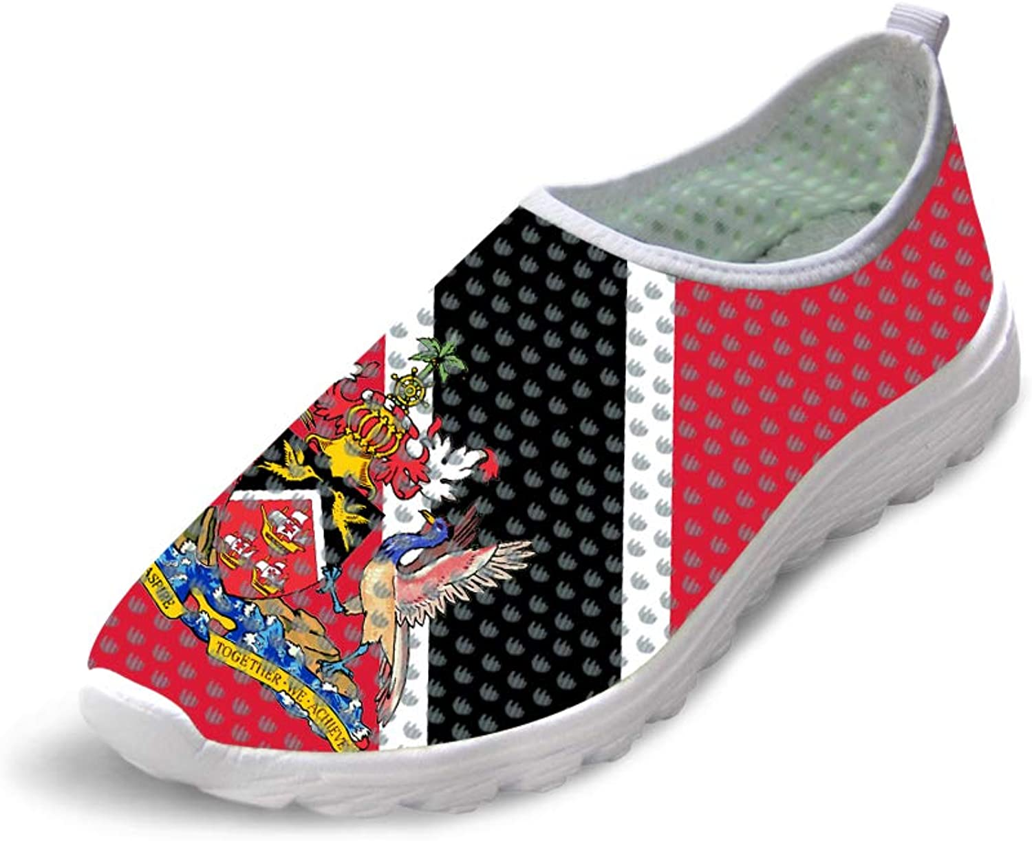 Owaheson Trail Runner Running shoes Casual Sneakers Trinidad and Tobago Flag National Emblem