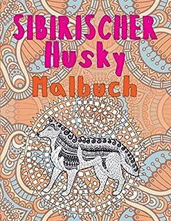 Sibirischer Husky - Malbuch