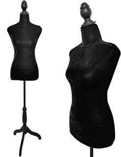 USAKHV Dress Form Mannequin Stand Model with Wire Head 80F-1 with Base