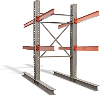 Cantilever Rack Starter Kit - Double Sided - 12'H x 8