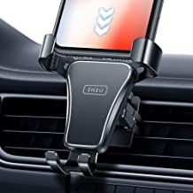 INIU Car Phone Mount, 360° Universal Gravity Air Vent Phone Holder for Car, One Hand Cell Phone Car Holder Stand Compatible with iPhone 12 11 Pro XS Max X 8 7 Plus Samsung S20 S10 Note 9 Google LG GPS