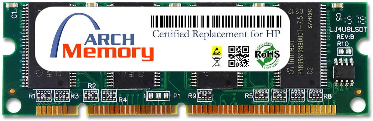 Arch Memory Replacement for HP Q2628A 512MB 100-Pin DDR DIMM RAM Upgrade