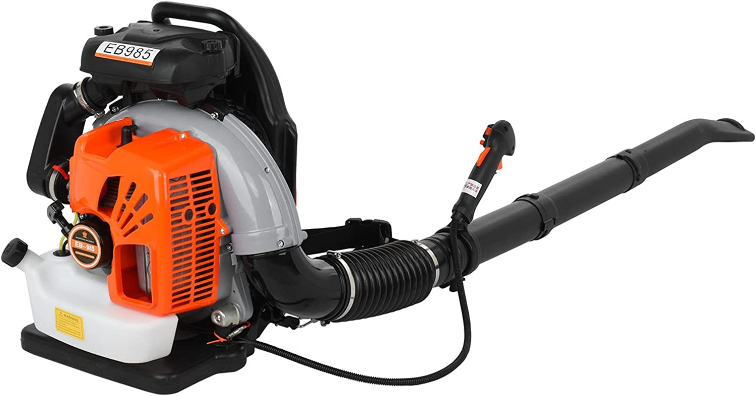 Leaf Blower 3.2Hp 2-Stroke 65CC Powered Gas Max 61% OFF Blo Regular discount Back Pack